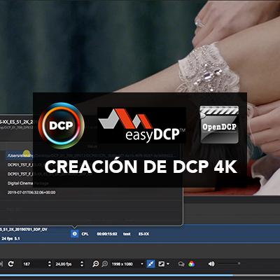 Curso online creación de DCP