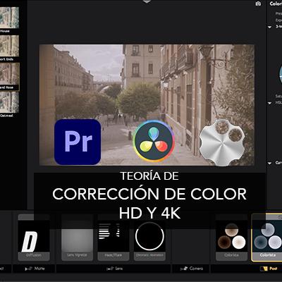 Curso online de Corrección de Color