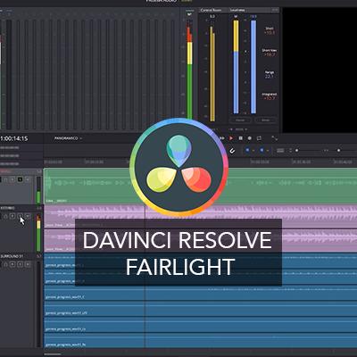 Curso Online Davinci Resolve. Fairlight